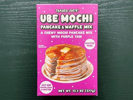 Trader Joe's Ube Mochi Pancake & Waffle Mix Review