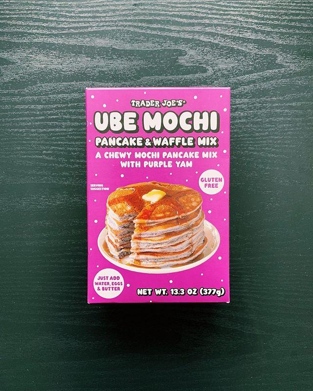 Ube Mochi Waffle Mix: 8/10