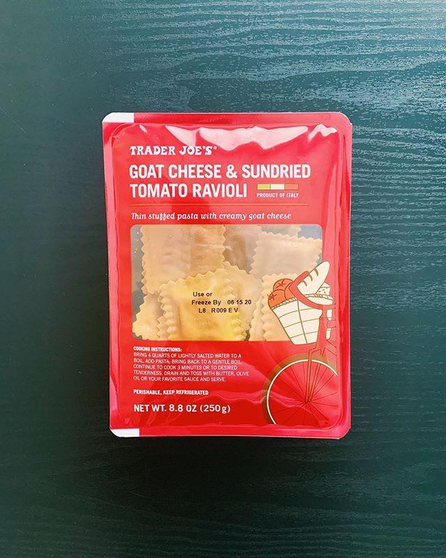 Goat Cheese and Sun-Dried Tomato Ravioli: 7.5/10