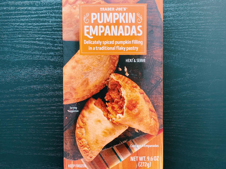 Trader Joe's Pumpkin Empanadas Review