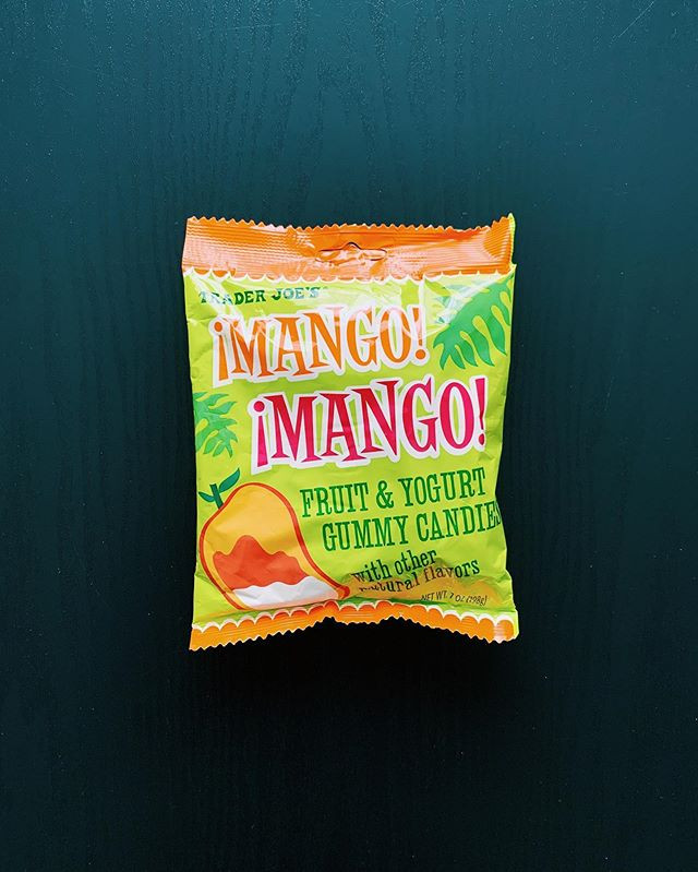 Trader Joe's Mango Mango Fruit and Yogurt Gummy Candies