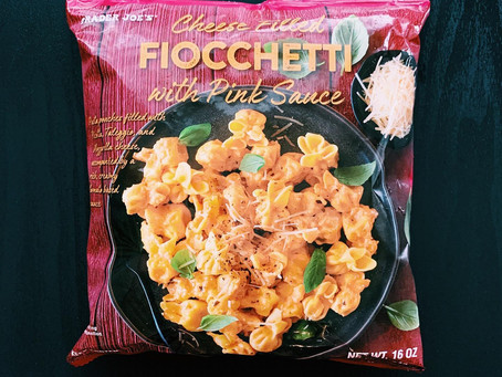 Trader Joe's Cheese Filled Fiocchetti with Pink Sauce Review