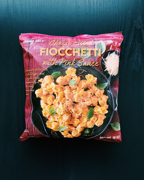 Cheese filled Fiocchetti with Pink Sauce: 6.5/10