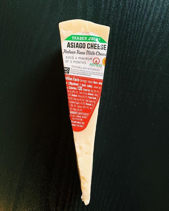 Asiago Cheese: 5/10