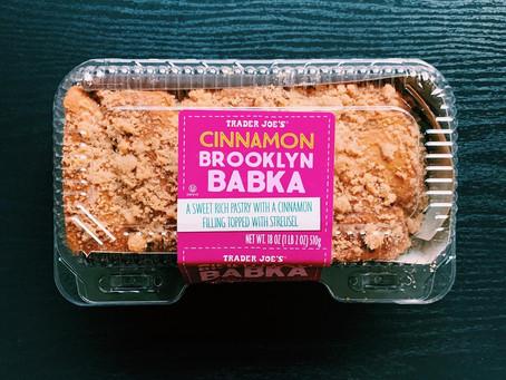 Trader Joe's Cinnamon Brooklyn Babka Review