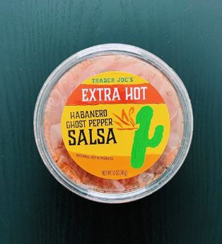 Trader Joe's Extra Hot Habanero Ghost Pepper Salsa