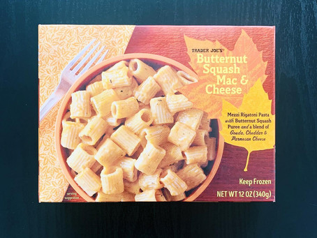 Trader Joe's Butternut Squash Mac and Cheese Review
