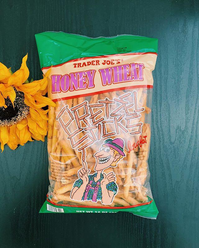 Honey Wheat Pretzel Sticks: 8/10