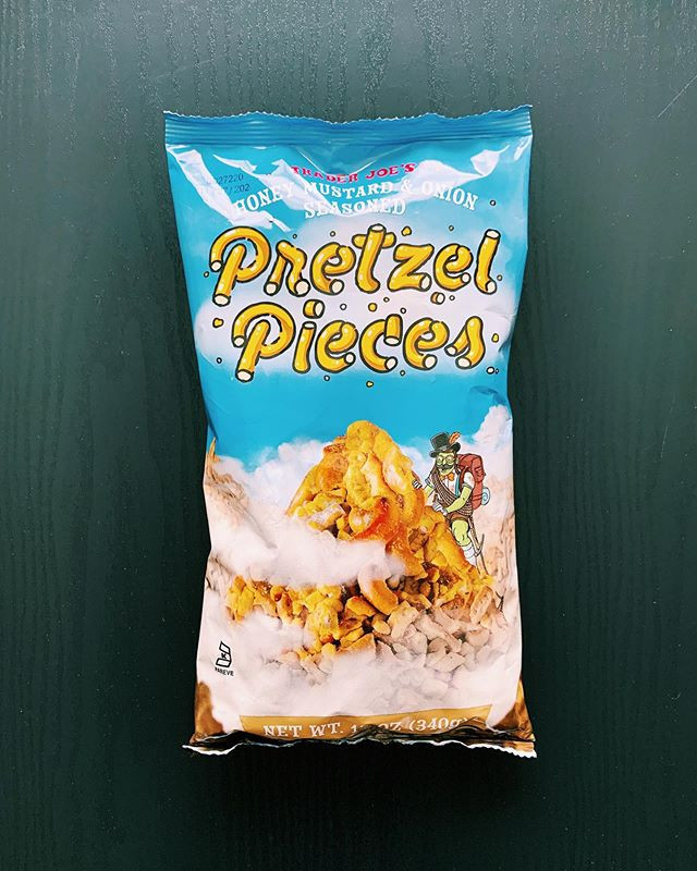 Honey Mustard Pretzel Pieces: 8/10