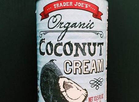 How to Use Trader Joe's Coconut Cream
