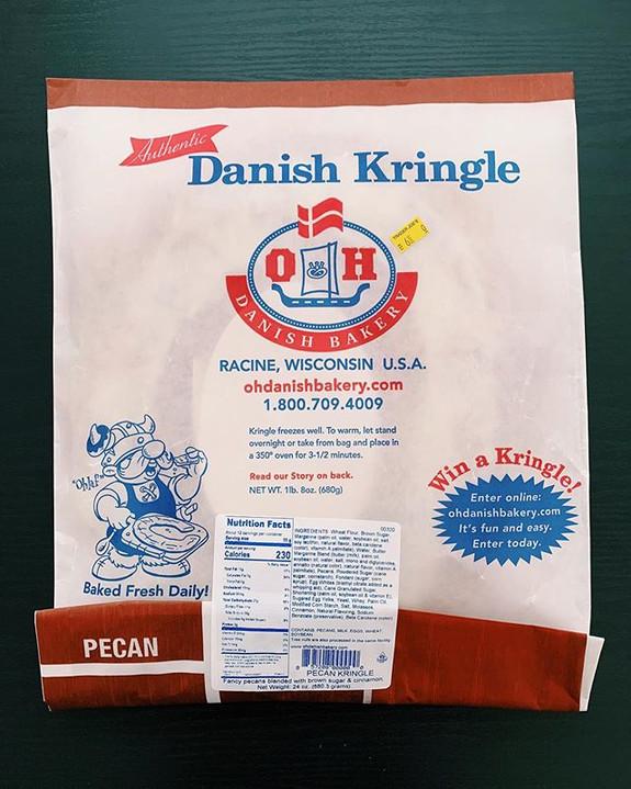 Pecan Kringle: 10/10