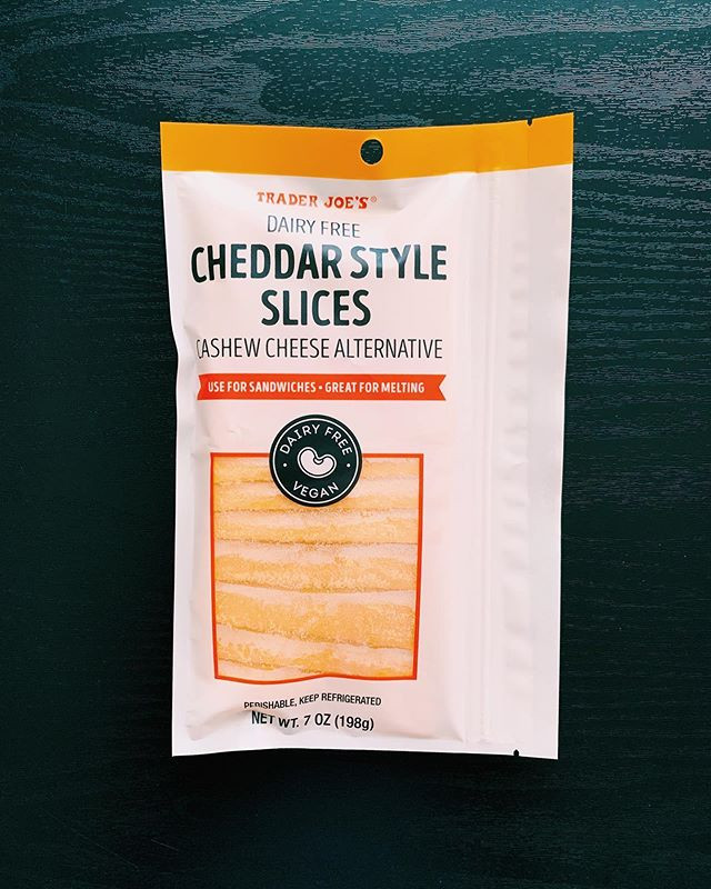 Trader Joe's Dairy Free Cheddar Style Slices