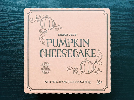 Trader Joe's Pumpkin Cheesecake Review