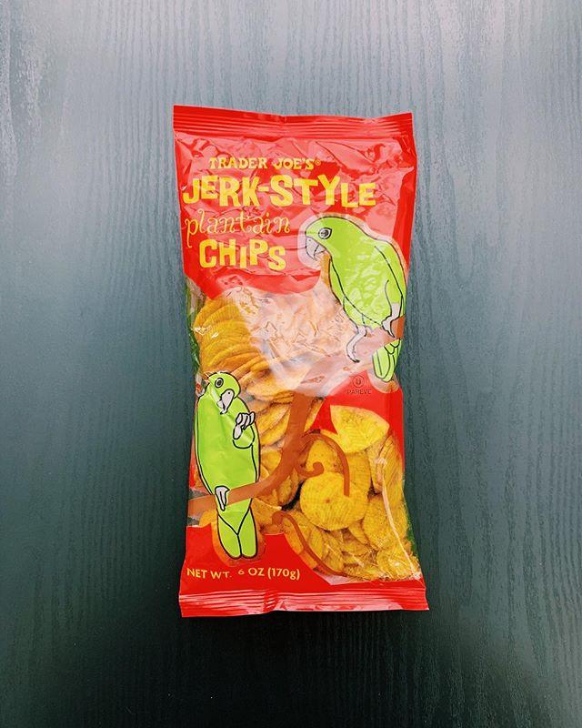 Jerk Style Plantain Chips: 9/10