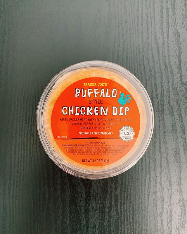 Buffalo Chicken Dip: 5.5/10