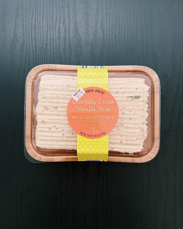 Chantilly Cream Vanilla Bean Cake: 8.5/10
