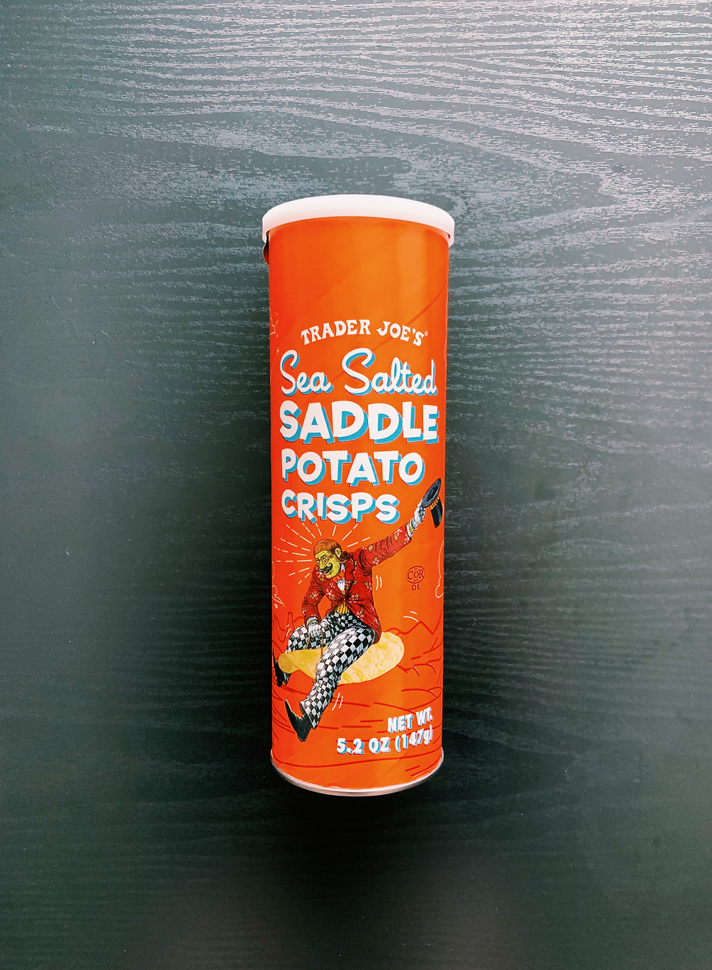 Trader Joe's Sea Salted Saddle Potato Chips