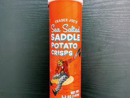 Trader Joe's Sea Salted Saddle Potato Crisps Review
