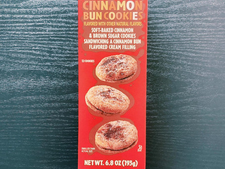 Trader Joe's Cinammon Bun Cookies Review
