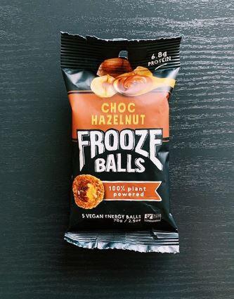 Choc Hazelnut Frooze Balls: 9.5/10