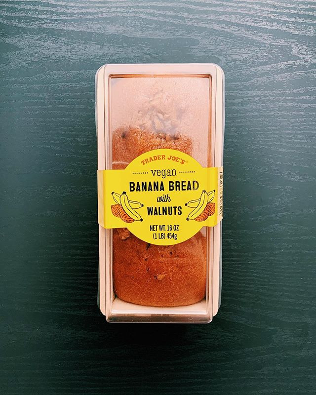 Trader Joe's Vegan Banana Bread