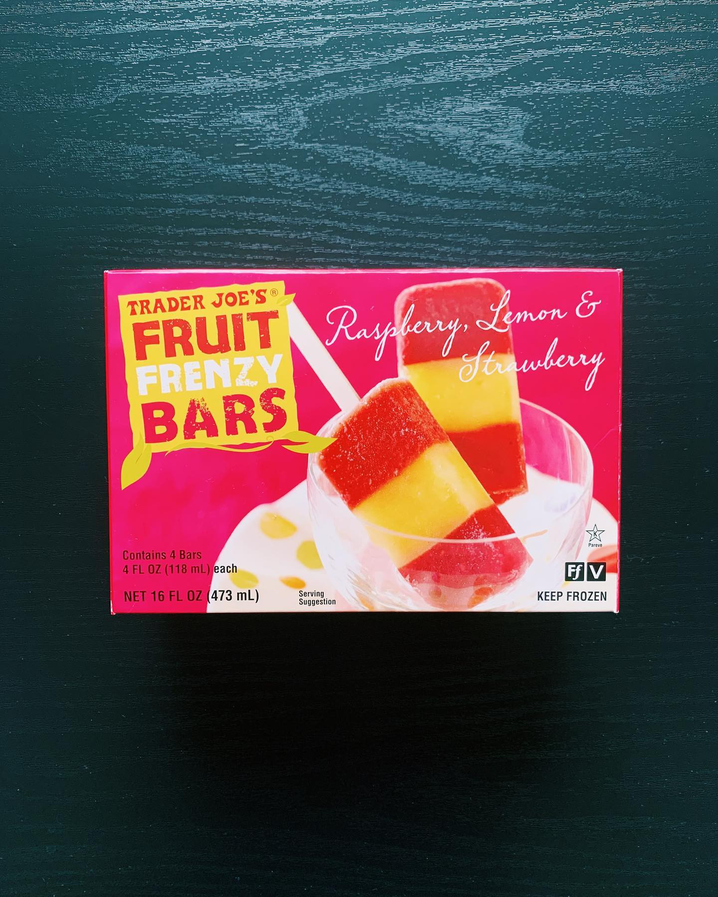 Trader Joe's Fruit Frenzy Bars: 9/10