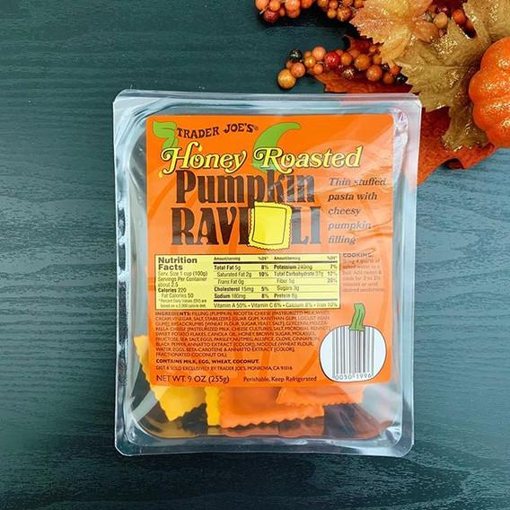 Honey Pumpkin Ravioli: 8.5/10