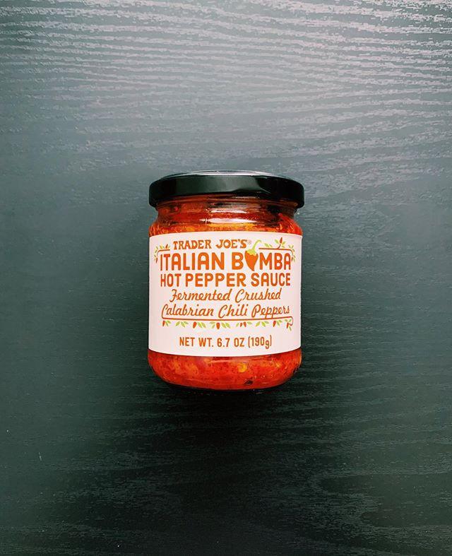 Italian Bomba Hot Pepper Sauce: 9/10