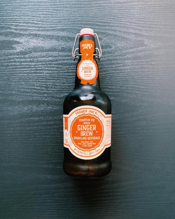 Pumpkin Spiced Ginger Brew: 7.5/10