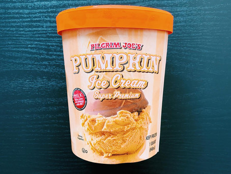 Trader Joe's Pumpkin Ice Cream Review