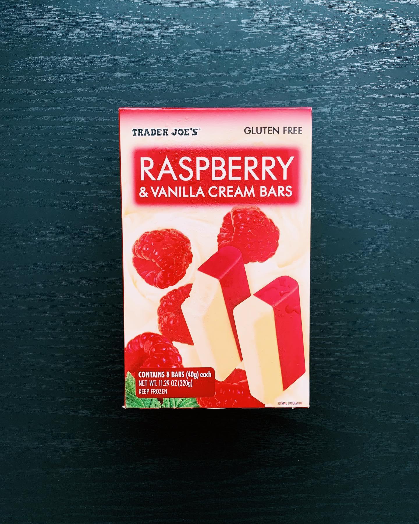 Raspberry & Vanilla Cream Bars