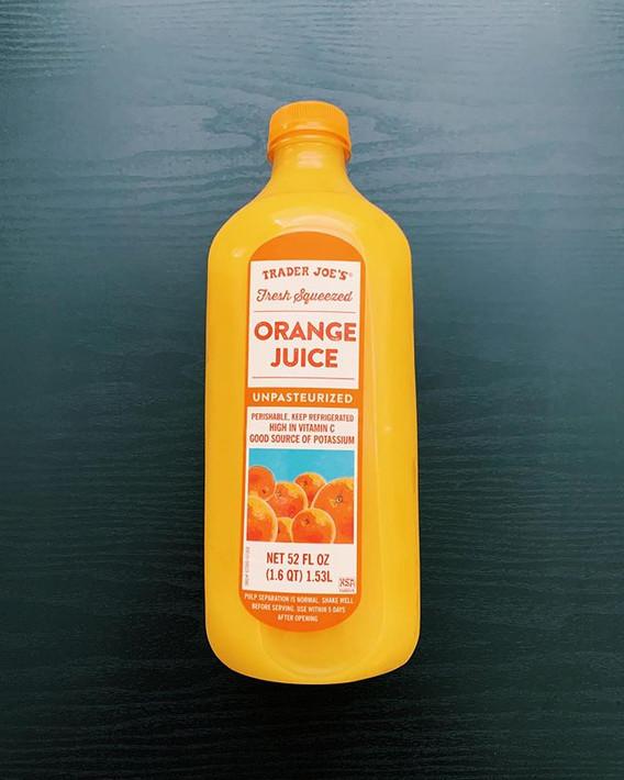 Fresh Squeezed Orange Juice: 10/10