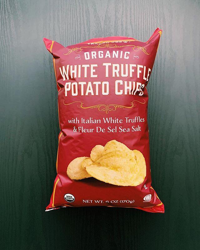 White Truffle Potato Chips: 9/10