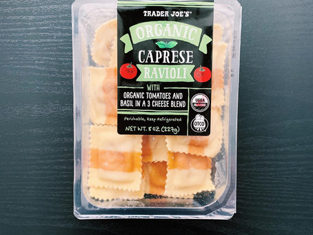 Trader Joe's Caprese Ravioli Review