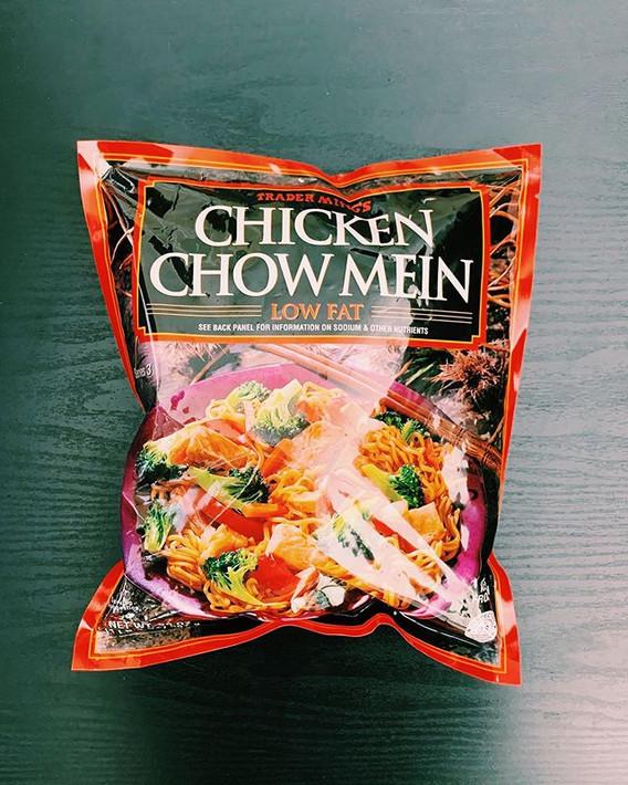 Chicken Chow Mein: 7/10