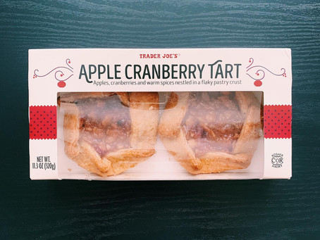 Trader Joe's Apple Cranberry Tart Review