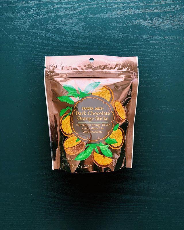 Dark Chocolate Orange Sticks: 9/10