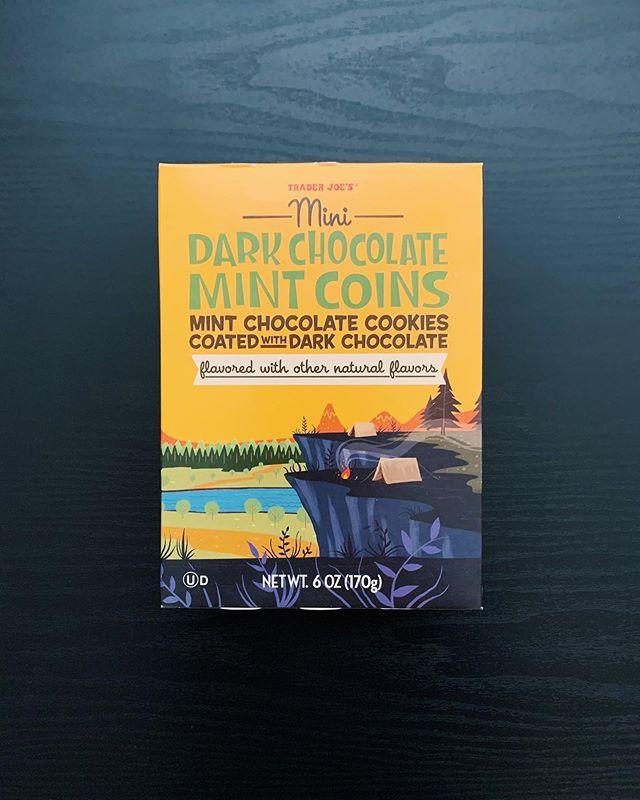 Dark Chocolate Mint Coins: 9.5/10