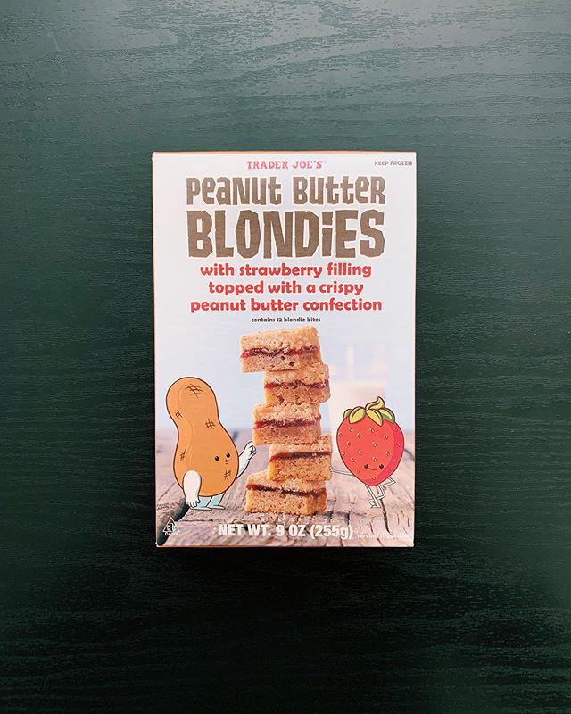 Peanut Butter Blondies: 9.5/10