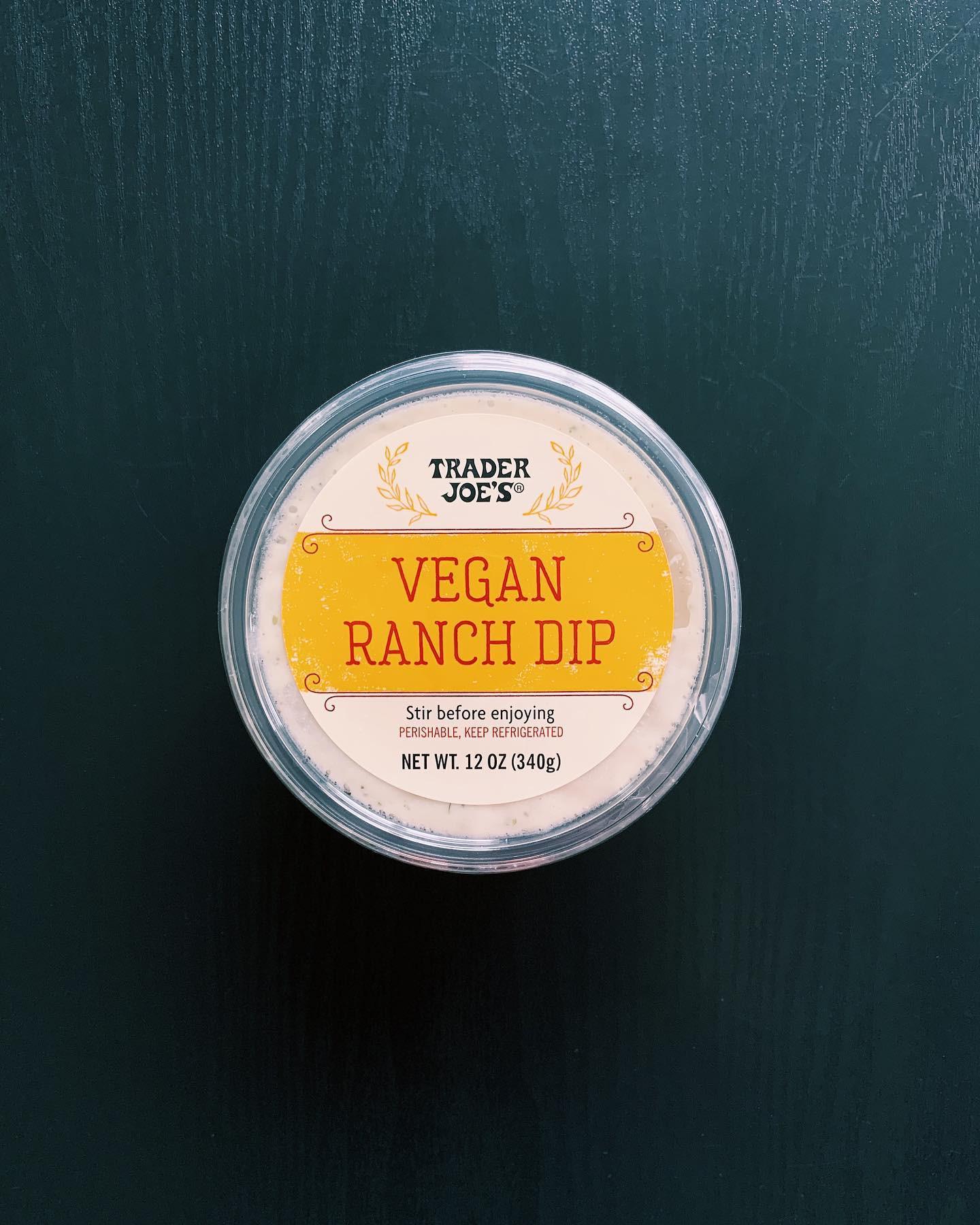Vegan Ranch Dip: 4/10