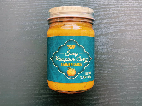 Trader Joe's Spicy Pumpkin Curry Simmer Sauce Review