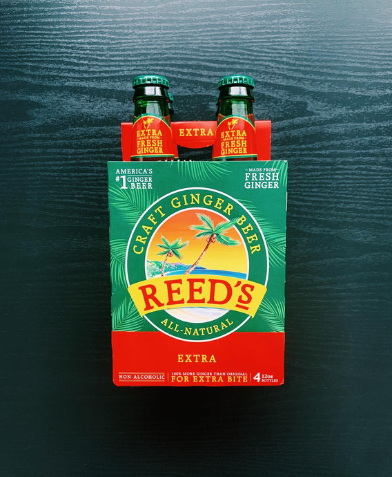 Reed's Extra Ginger Beer: 10/10