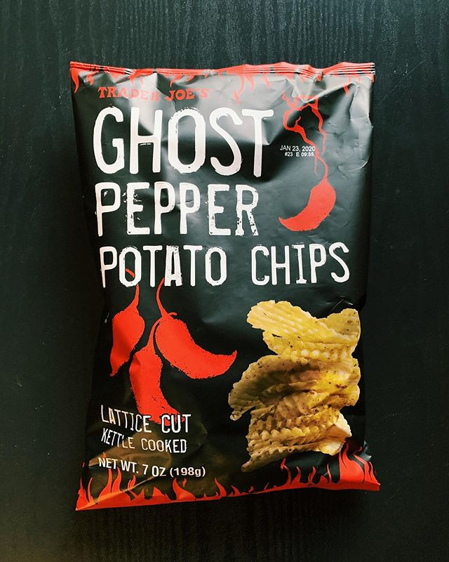 Ghost Pepper Chips: 9/10