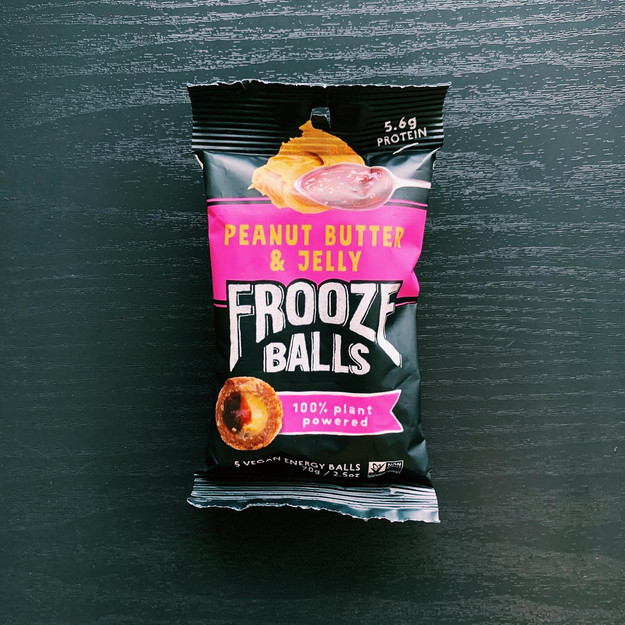 Peanut Butter & Jelly Frooze Balls