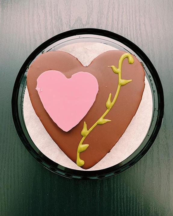 Chocolate Mousse Cake: 9/10