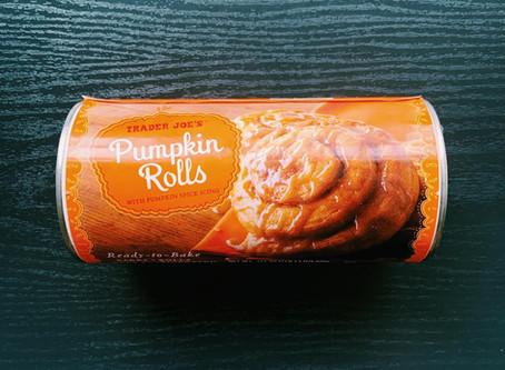 Trader Joe's Pumpkin Rolls Review