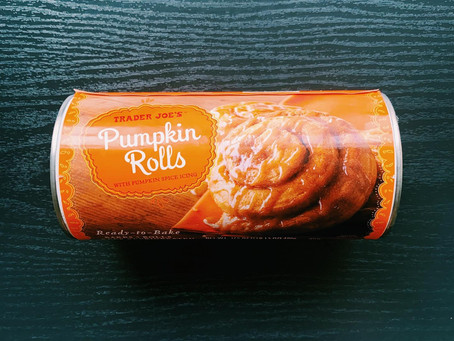Trader Joe's Pumpkin Rolls Review