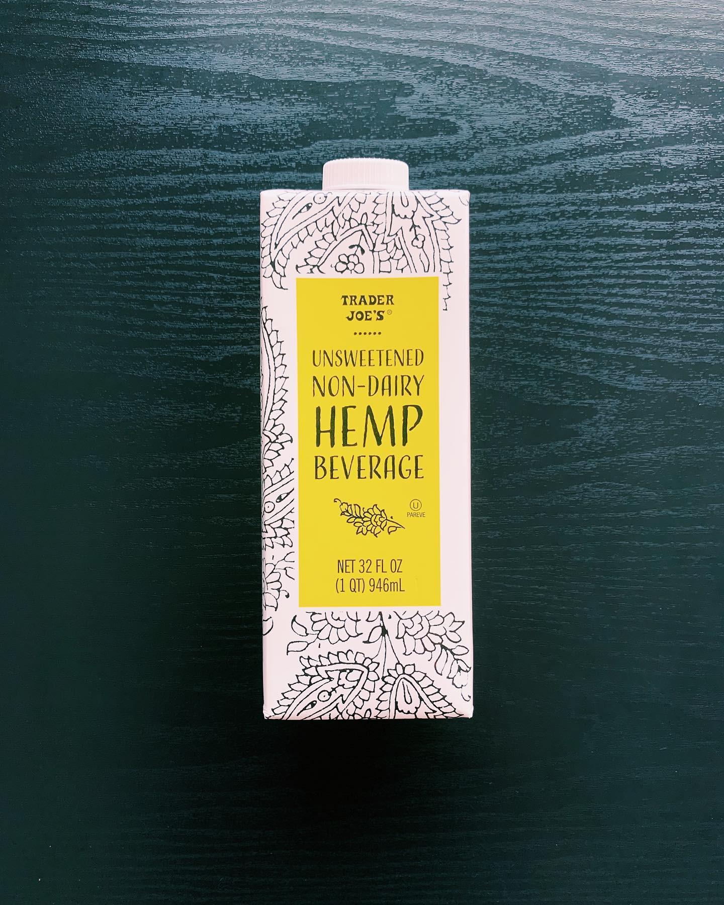 Hemp Beverage: 7/10