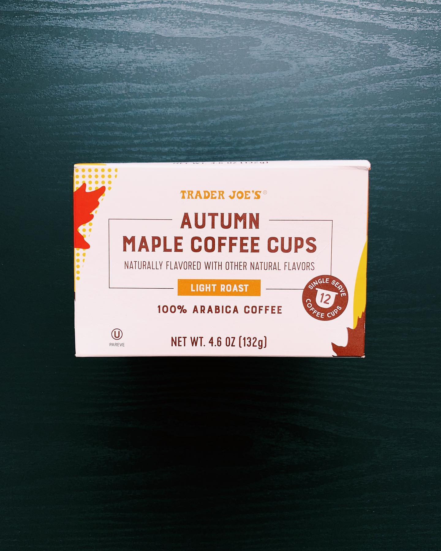Autumn Maple Coffee Cups: 8/10