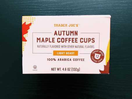 Trader Joe's Autumn Maple Coffee Review